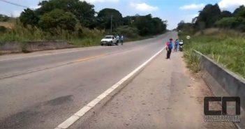ATUALIZADO EM 24/10 ÀS 21:13h: Motociclista de Capela sofre acidente gravíssimo a caminho do trabalho em Araçoiaba