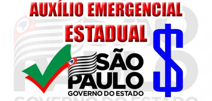 Novo Auxílio emergencial de $300 – Agora custeado pelo Estado de São Paulo